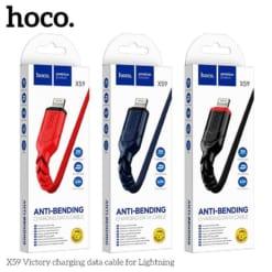 Cáp sạc Hoco X59 Lightning - 1m